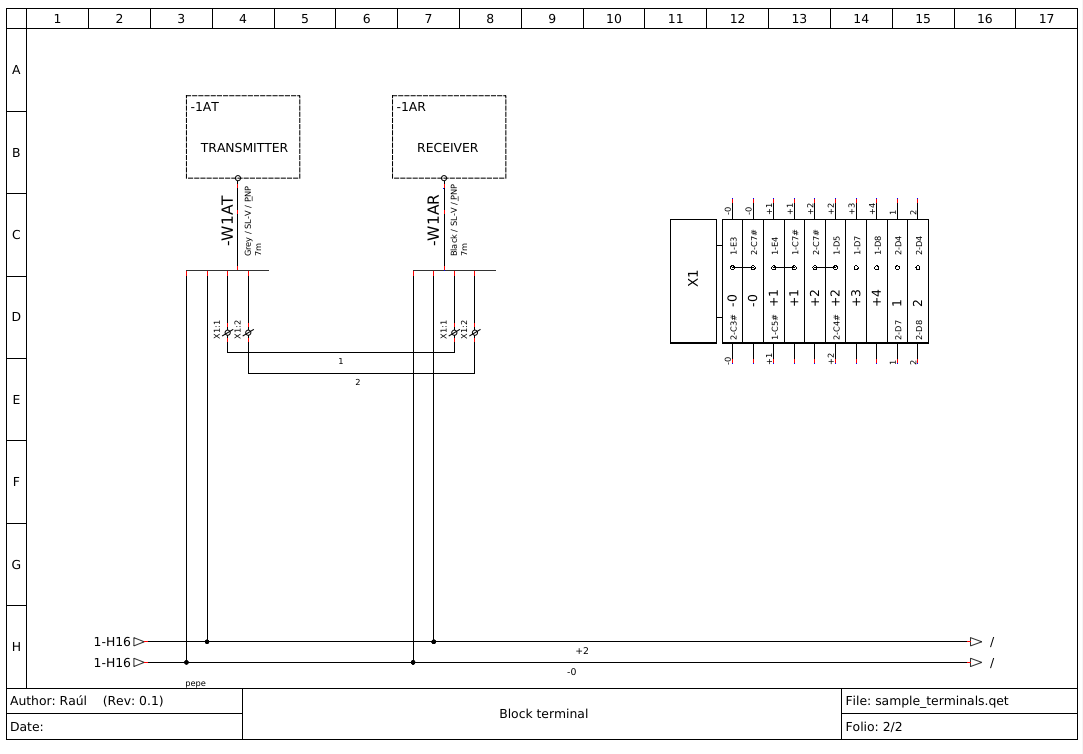 Ideas To Solve Terminal Blocks Creation Page 1 Block Diagram Drawing Images Re