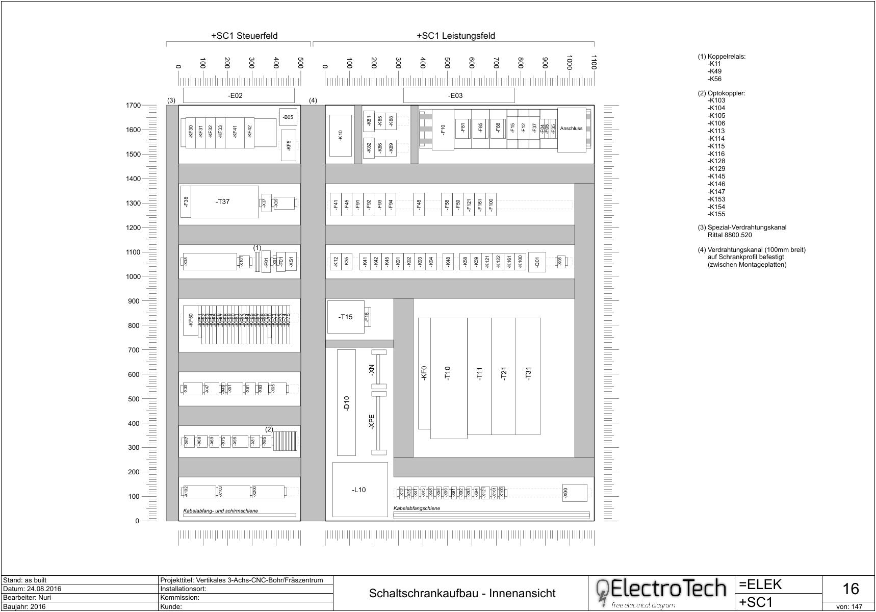Visualiser une implantation d 39 armoire page 1 fr aide suggestions discussions - Schema d implantation electrique ...